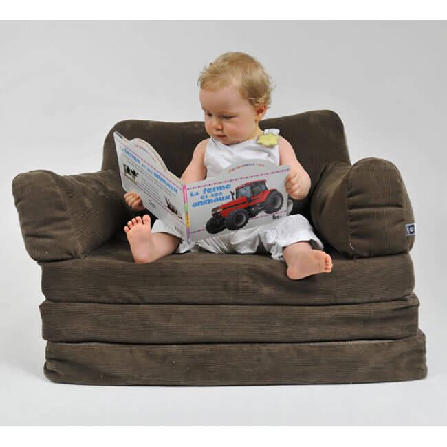 Le confort du fauteuil pour enfants