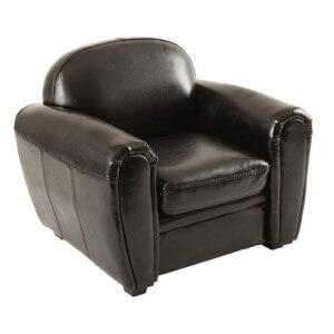 fauteuil enfant cuir